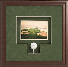 Framed Golfball